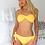 Thumbnail: Claire Yellow Swimwear set with Swarovski Crystals