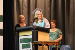 Cadrien at graduation