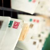 stamps-on-envelopes