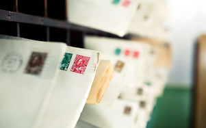 stamps-on-envelopes