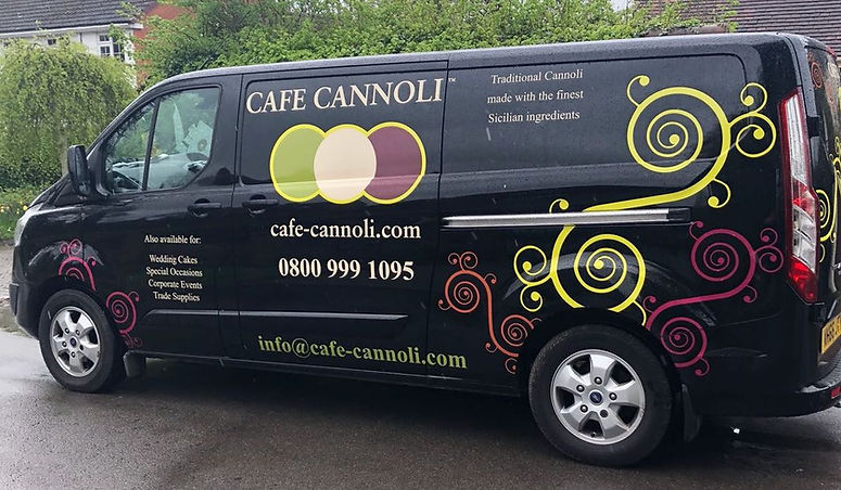 Cafe Canoli Van