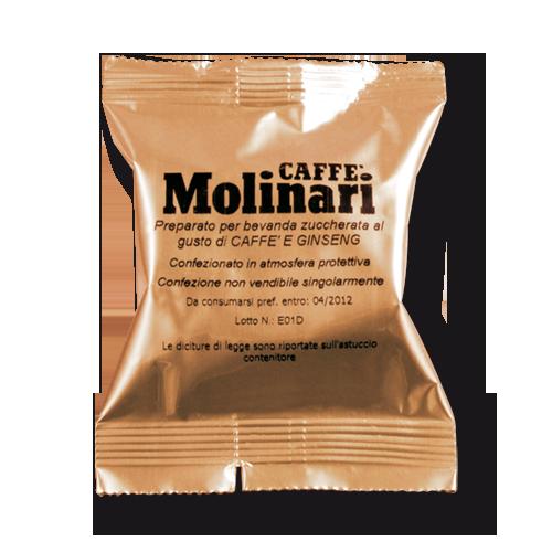 Capsule Caffè Molinari Ginseng (confezione da 50 pz)