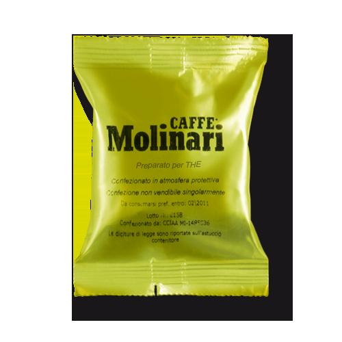 Capsule  Caffe'Molinari The al limone (confezione da 50 pz)