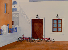 At Rest / Santorini