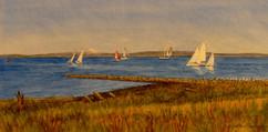 Regatta off Point Hudson