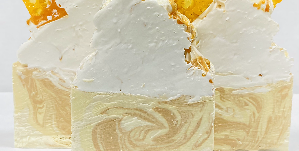 Honey Milk Frosted Soap (Pre-buy)