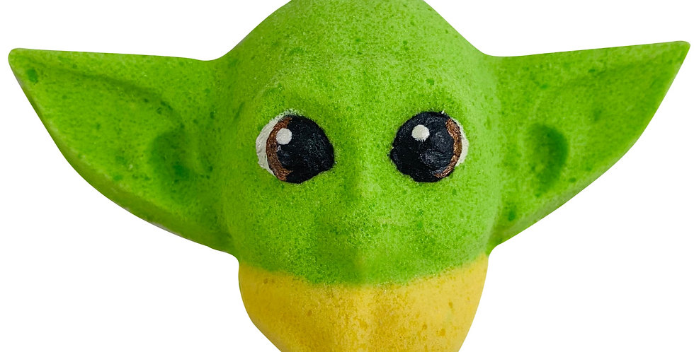 Baby Yoda Applewood Scented Bath Bomb