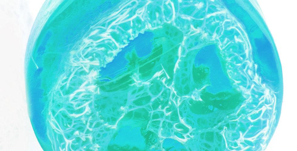 Ocean Breeze Exfoliating Luffa Soap