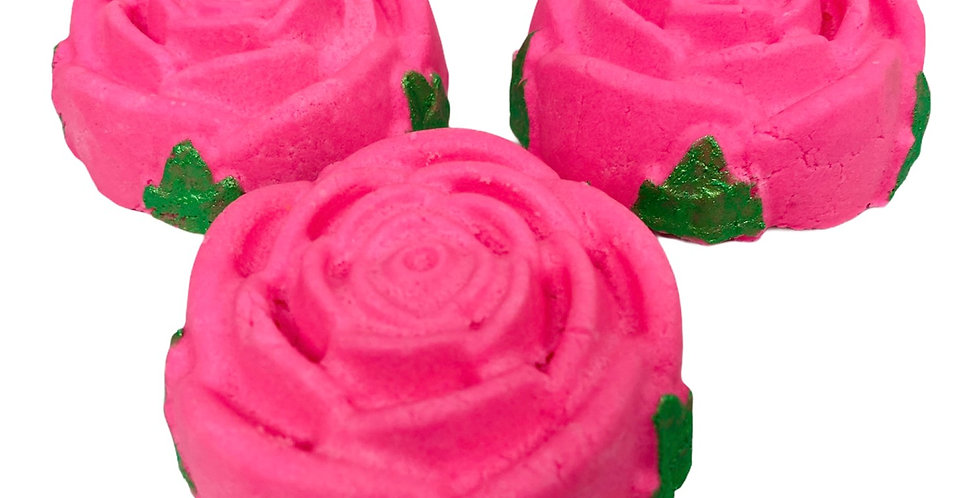 Rose Shaped Bubble Bar (3 Pack)