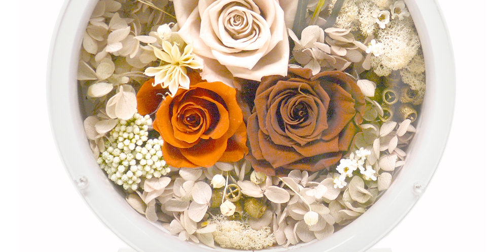 Forever Flower Backlit Floral Arrangement