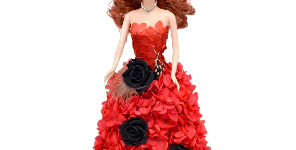Forever Flower Dolls (Red & Black)