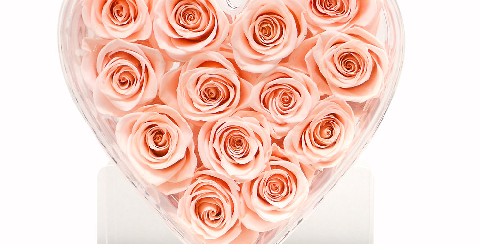 Forever Flower 360 Degree  Heart Bouquet