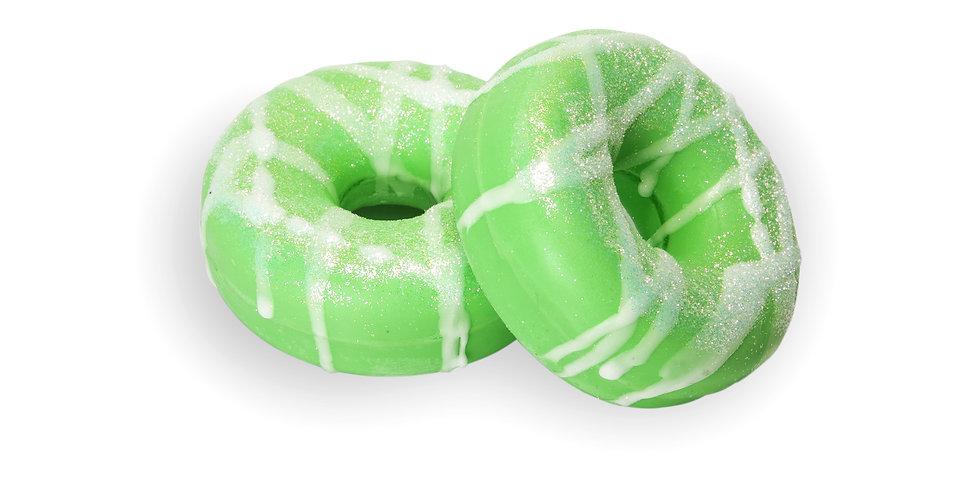 Macintosh Apple Donut Bath Bomb