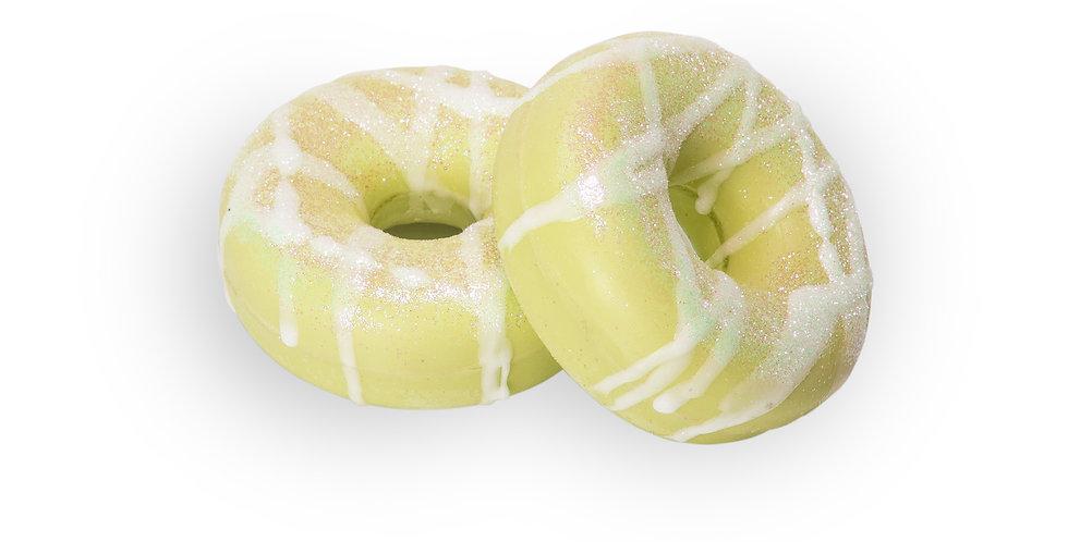 Lemon Verbena Donut Bath Bomb