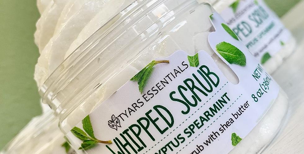 Eucalyptus Spearmint Whipped Soap Body Scrub