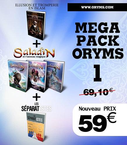 Pack Oryms 1 (illusion et tromperie en islam+Saladin+les Séparatistes)