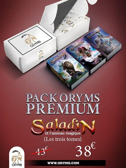 Pack Saladin Premium (3 tomes+coffret cadeau)
