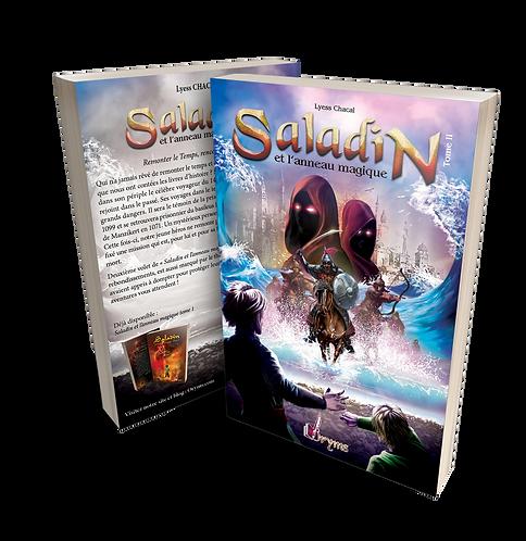 Saladin et l'anneau magique, remonter le Temps, rencontrer l'Histoire Tome 2