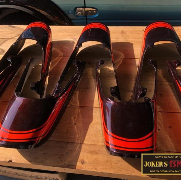 JOKER'S Z900RS/CAFE用ロングテール
