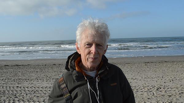 Laurine WAGNER, Fugitive World Project, 2020 (screenshot HD video interview of Derek COLEMAN, Katwijk aan Zee, THE NETHERLANDS, 06.02.2020)