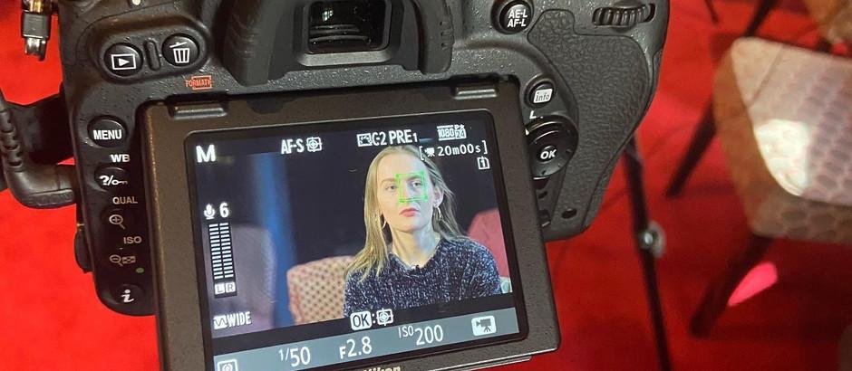 Double Bill Trailer Filming
