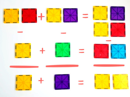 5 Great ideas to use Magnetic Tiles and learn Math