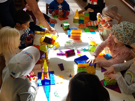 Educational toys and Childcare Centers