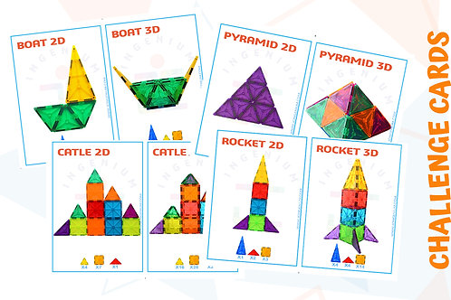 10 CHALLENGE CARDS