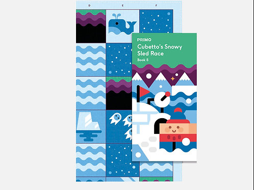 ADVENTURE MAP & STORY BOOK - POLAR ICE