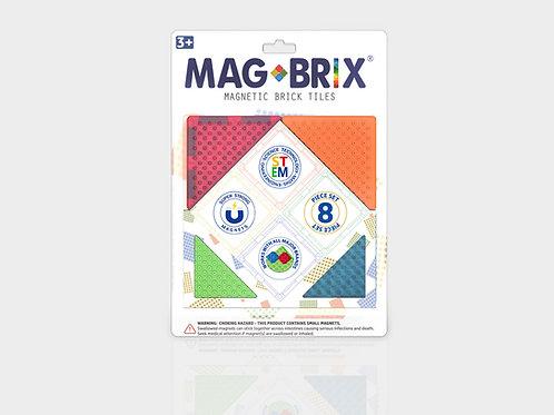 MAGBRIX® MAGNETIC BRICK TILES