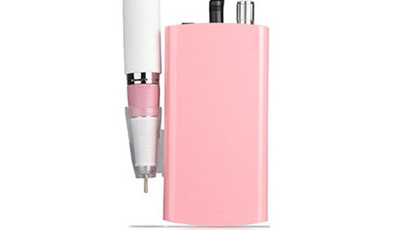 Pink Portable Nails Drills