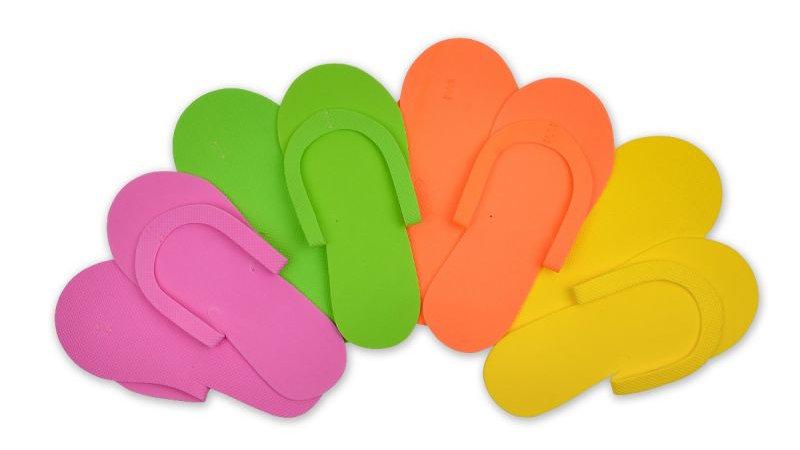 Non-Skid Foam Slippers-360/bx