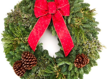 Annual Holiday Wreath Sale!