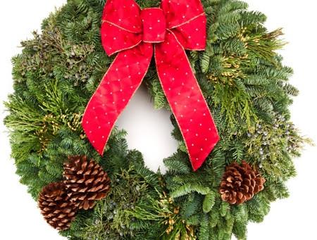 Annual Holiday Wreath Sale!