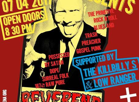 Cunzert de Reverend Beat Man