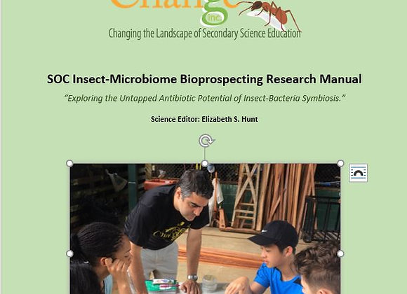 SOC Insect-Microbiome Bioprospecting Research Manual