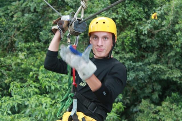 SOC Ziplining