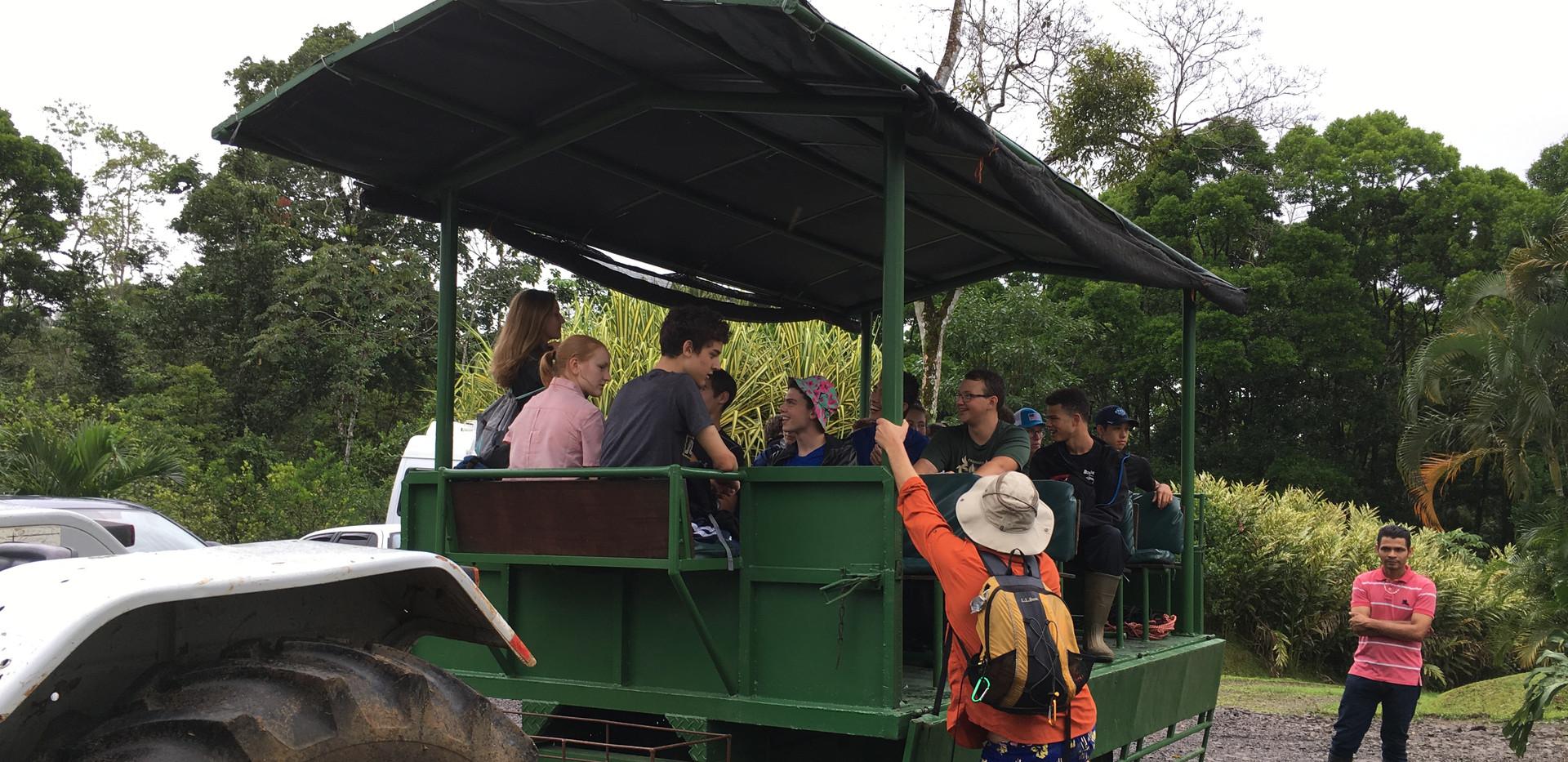 SOC Tractor Ride