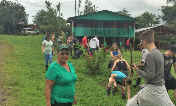 Community Service - Planting Butterfly Friendly Plants