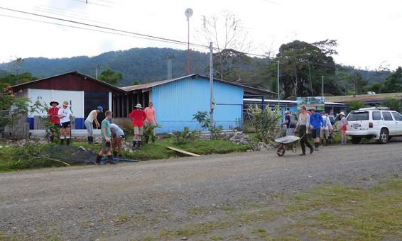 SOC Community Service - School Construction