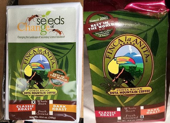 Costa Rican DOTA Mountain Coffee (16 bags/case)