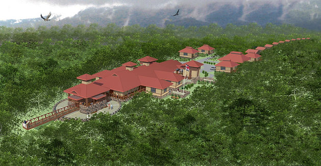 Seeds of Change Tropical Field Research Lab Aerial Rendering Costa Rica High School STEM