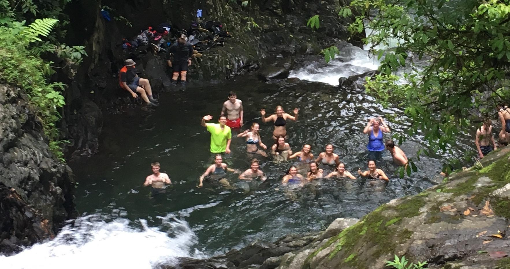 SOC Swimming Waterfall Pool