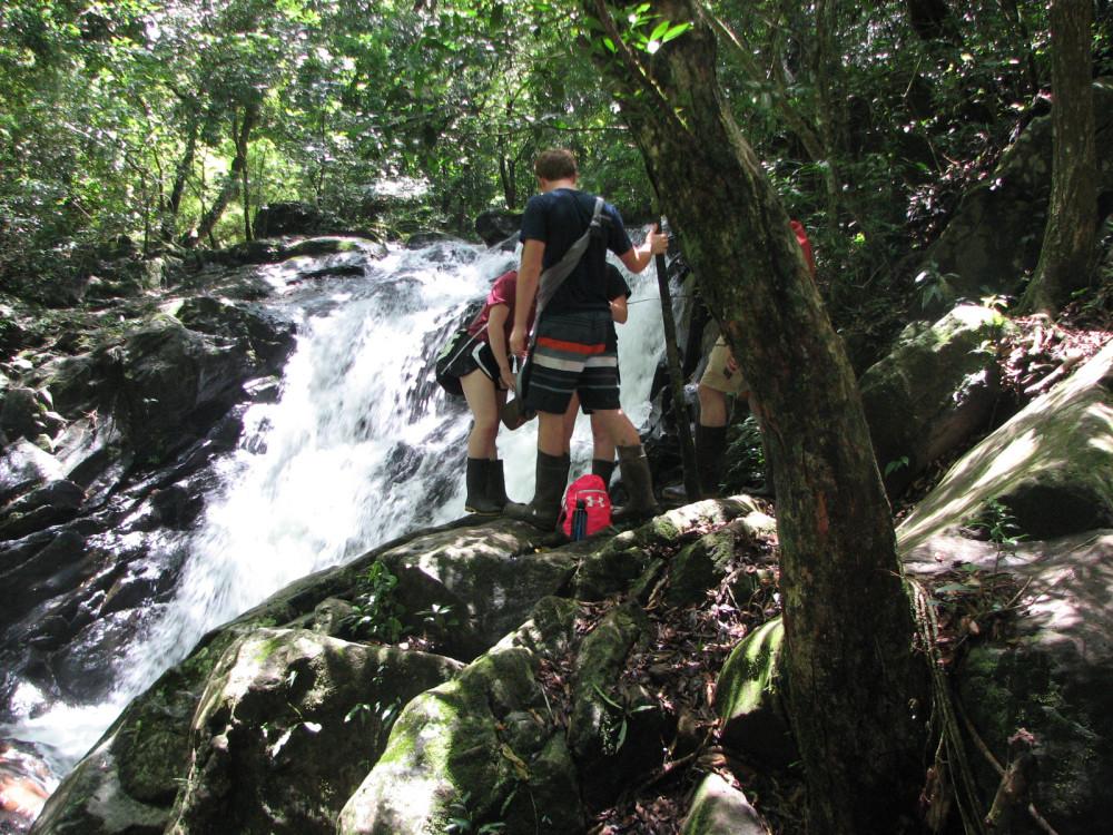 SOC waterfall hike