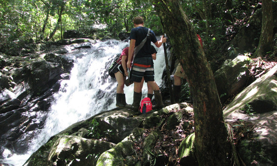 SOC waterfall hike