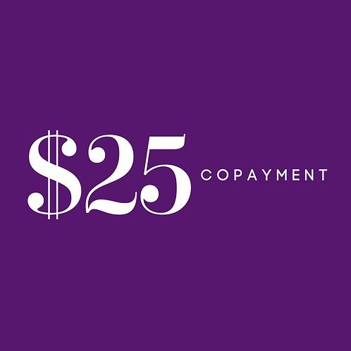 $25 CoPay