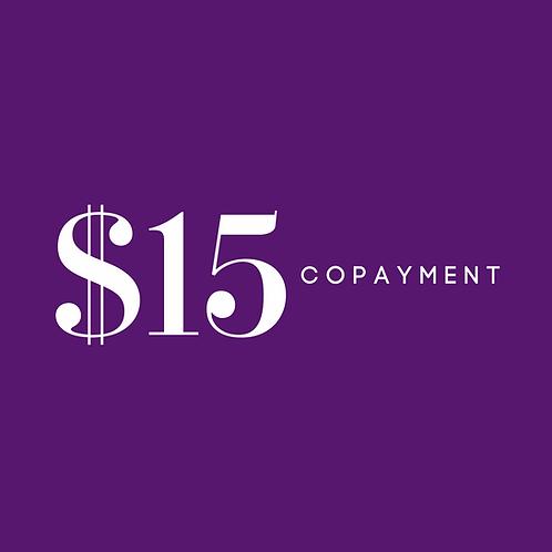 $15 CoPay