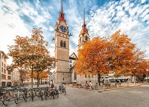 Stadtkirche Winterthur Postkarte A6
