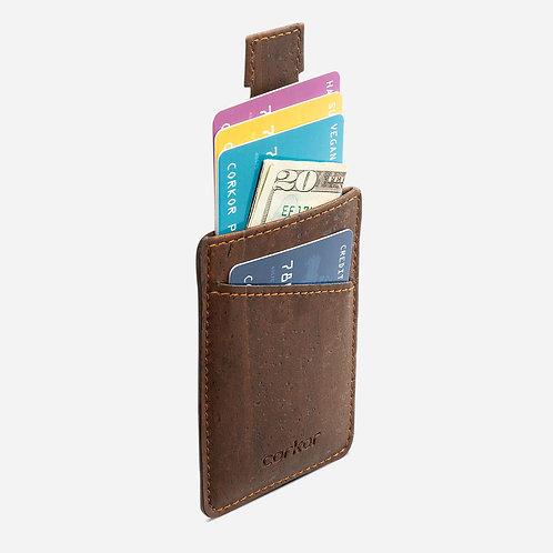 Corkor Kork Kreditkarten Portemonnaie minimalist (mehrere Farbvarianten)