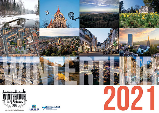 Winterthur in Pictures Wandkalender 2021